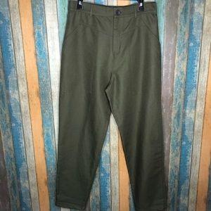 Zara High Waisted Utility Pants